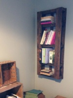 Pallet Bookcase Main